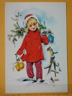 KOV 8-171 - NEW YEAR, Bonne Annee, Children, Enfant, Petite Fille, - New Year