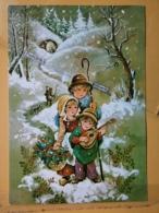 KOV 8-172 - NEW YEAR, Bonne Annee, Children, Enfant, - Nouvel An