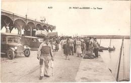 Dépt 14 - PORT-EN-BESSIN - La Vente (du Poisson) - Éditeur : A. Dubosq, édit., N° 37 - (automobiles Anciennes, Poissons) - Port-en-Bessin-Huppain