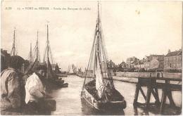 Dépt 14 - PORT-EN-BESSIN - Sortie Des Barques De Pêche - (Éditeur : A. Dubosq, édit., N° 17) - Port-en-Bessin-Huppain