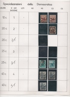 Serie Democratica Inizio Collezione Specializzazione - Variedades Y Curiosidades