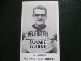 Cyclisme Photo Papier Souple Jan Janssen - Ciclismo