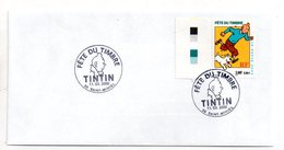 Fête Du Timbre - Tintin - 2000-Saint Mihiel -voir état - FDC