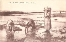Dépt 14 - PORT-EN-BESSIN - Pêcheuses De Moules - (Éditeur : A. Dubosq, édit., N° 26) - Port-en-Bessin-Huppain