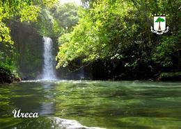 Equatorial Guinea Ureca Falls New Postcard Äquatorialguinea AK - Guinée Equatoriale