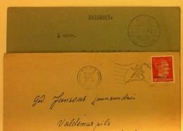 1943-44 LATVIJA  Riga- Aiva Paststamps - Lettonie