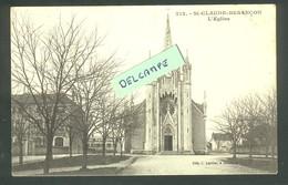 Besançon - Saint-Claude  L'Eglise Cachet Chasseurs à Pied Au Dos - CLB 212 - Besancon
