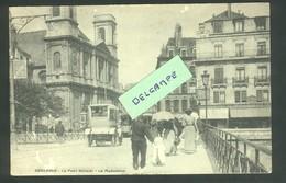 Besançon - Le Pont Battant Et La Madeleine - Animation - Blum éditeur - Besancon