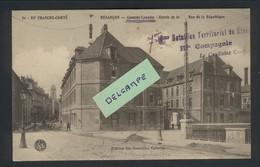 Besançon - Caserne Lyautey - Entrée De La Rue De La République - 7 ème Bataillon Territorial Du Génie - Besancon