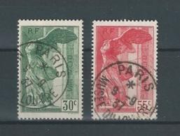 Timbres  N° 354/55  Oblitéré  COB   YT  100€ - Frankreich