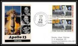 5560/ Espace (space) Lettre (cover) 11/4/1970 Apollo 13 USA - Etats-Unis