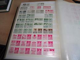 Sammlung Belgien Mit Reklame- ZD`s, */**, Mit 56 Fotos Alles Abgebildet. - Briefmarken