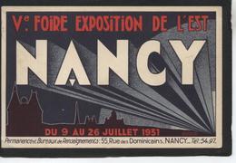 NANCY - Foire Exposition 1931 - Maxeville