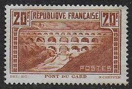 France N° 262 Neuf Sans Gomme - Francia