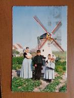 Nederland / Zeeuwse Klederdracht, Walcheren -> Beschreven (met Windmolen) - Nederland