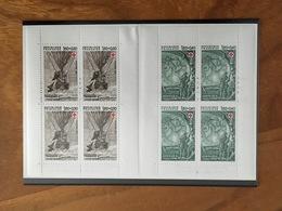 CARNET CROIX ROUGE - Y&T 2247a / 2248a - 1982 - Neuf ** - Croix Rouge