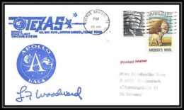 5936/ Espace (space) Lettre (cover) 26/7/1971 Apollo 15 Signé (signed Autograph) Texas Corpus Christi USA - Briefe U. Dokumente