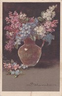Vase De Fleur (signé)  (34) - Colombo, E.