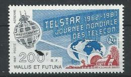 """Wallis Aerien YT 156 (PA) """" Telstar """" 1987 Neuf** - Posta Aerea"""