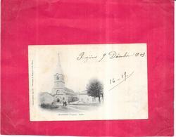 LAMARCHE - 88 - CPA DOS SIMPLE - L'Eglise  - BES2019 - - Lamarche