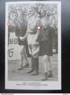 Postkarte Propaganda Hitler Mit Hitlerjugend HJ - Briefe U. Dokumente
