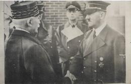 41, Loir Et Cher, MONTOIR SUR LE LOIR, Pétin Et Hitler - Carte Photo, Scan Recto-Verso - Montoire-sur-le-Loir