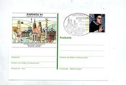 Carte Postale 50 Europa Cachet Stuttgart Naposta Illustré - BRD