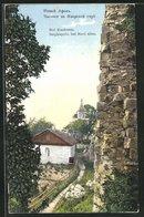 AK Novi Afon, An Der Bergkapelle - Georgien