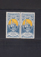 Russie Empire 1905 Yvert 58 ** Paire Sans Charnière. Bienfaisance. (2021t) - 1857-1916 Empire
