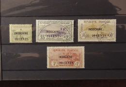 12 - 19 //  Indochine - N° 90 - 92 - 93 - 94 - Série Des Orphelins - Cote 50 Euros - Indochine (1889-1945)
