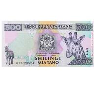 BILLET  TANZANIE 500 SHILING - Tanzania