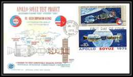 7376/ Espace (space Raumfahrt) Lettre Cover 15/7/1975 Test Launch APOLLO Soyuz (soyouz Sojus) Project USA - Briefe U. Dokumente