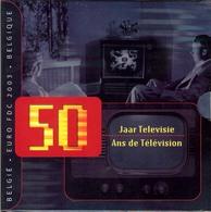 BELGIQUE - COFFRET BU 2003 (TELEVISION) - Belgium