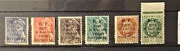 12 - 19 //  France- Libération N° 1 à 6  Nice - 28 Août 1944 - Front National - Dos Couronne Verte - Cote 150 Euros - Libération