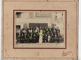 PHOTO  DE JEAN SAGARRA - MARIAGE DEVANT GARAGE CITROEN - 64 - NAVARRENX SALIES DE BEARN ? A DEFINIR - Anonieme Personen