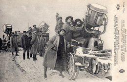 AUTOS-PROJECTEURS Qui éclairèrent Le Zeppelin Jusqu'à Sa Chute, Le 22/02/1916 à Brabant Le Roi (Meuse) - Animation - Guerra 1914-18