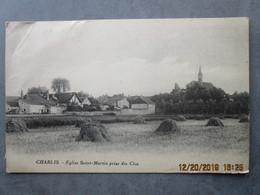 CPA 89 CHABLIS Yonne - L'église Saint Martin Prise Des Clos - Meules De Foin  Vers 1910 - Chablis