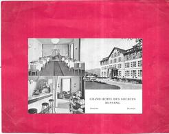 DEPT 88 - Grand Hotel Des Sources De BUSSANG - MULTI-VUES  - BES2019 - - Bussang