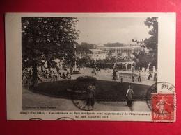 Nancy Thermal, Vue Intérieure Du Parc Des Sports Avec La Perspective De L'établissement Thermal Qui Sera Ouvert Fin 1913 - Nancy