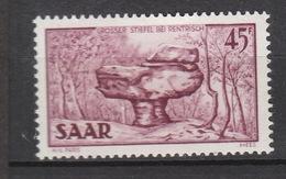 Deutschland Saargebiet Alliierte Besetzung 1947-1956 **  286 Rentrisch Geprüft Hoffmann Grube Reden Katalog  6,00 - 1947-56 Gealieerde Bezetting