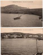 Diélette Flamanville - Vue Prise De La Grande Jetée - édit. Lefrançois 3 4 - Autres Communes