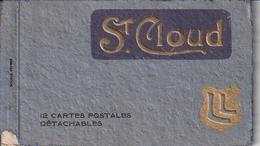 Un Carnet Contenant 11 Cartes De  Saint Cloud - Saint Cloud