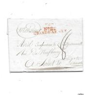 Guerre Napoléonienne Lettre De 1806  Marque Rouge N°22 / GRANDE ARMEE - Marcophilie (Lettres)