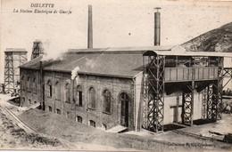 Diélette Flamanville - Station électrique De Guerfa - Collection FC Cherbourg - Autres Communes