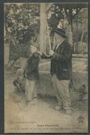 16 Charente Types Charentais Canne Grand-père Voyagé 1907 - Non Classificati