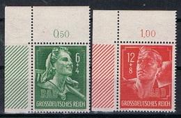 Duitse Rijk Y/T 819 / 820 (**) - Allemagne