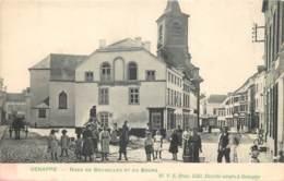 Belgique - Genappe - Rue De Bruxelles Et Du Bourg - Genappe