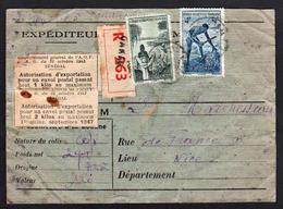SENEGAL (Anc. Col. Françaises) RARE Carte Postale Recommandée De Dakar Pour La Douane Obl En 1947.................... - Sénégal (1887-1944)