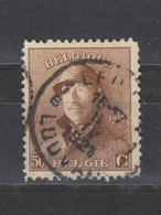 COB 174 Oblitération Centrale LEUVEN - LOUVAIN 1B - 1919-1920  Cascos De Trinchera