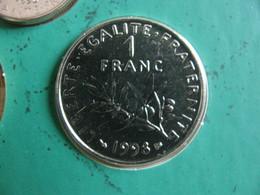 France : 1 Franc 1998   - Prix : 14,00 € ( BU Seulement ) - France